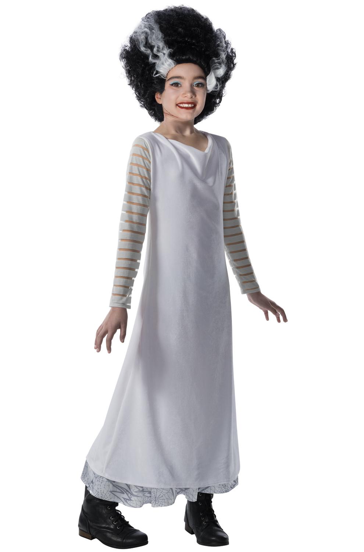 Bride of Frankenstein Child Costume - PureCostumes.com