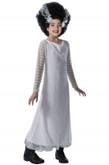 Kids costumes purecostumes bride of frankenstein child costume solutioingenieria Choice Image
