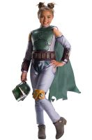 Boba Fett Girl Child Costume