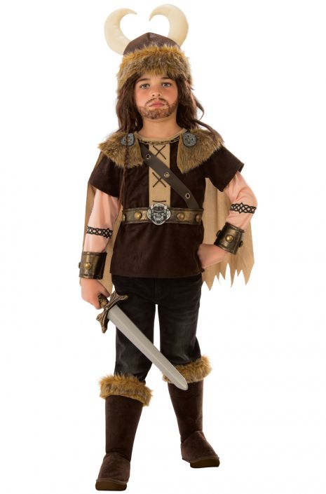 Brave Viking Boy Child Costume