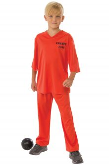 Prisoner convict costumes purecostumes inmate 101 child costume solutioingenieria Choice Image