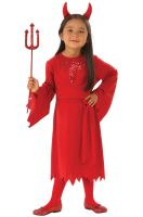Red Devil Child Costume