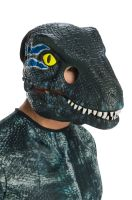 Velociraptor Blue Movable Jaw Adult Mask