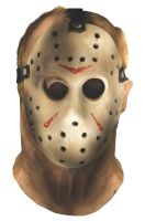 Friday the 13th Jason Overhead Adult Mask