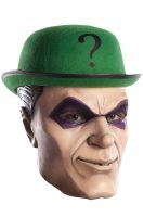 The Riddler Deluxe Latex Adult Mask