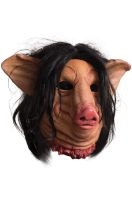 Deluxe Pig Face Adult Latex Mask
