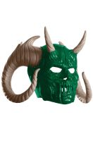 Green Meanie Adult Overhead Latex Mask