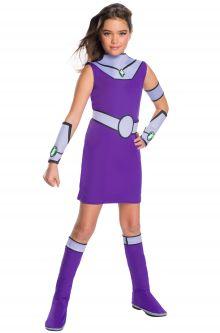 Kids costumes purecostumes teen titans deluxe starfire child costume solutioingenieria Choice Image