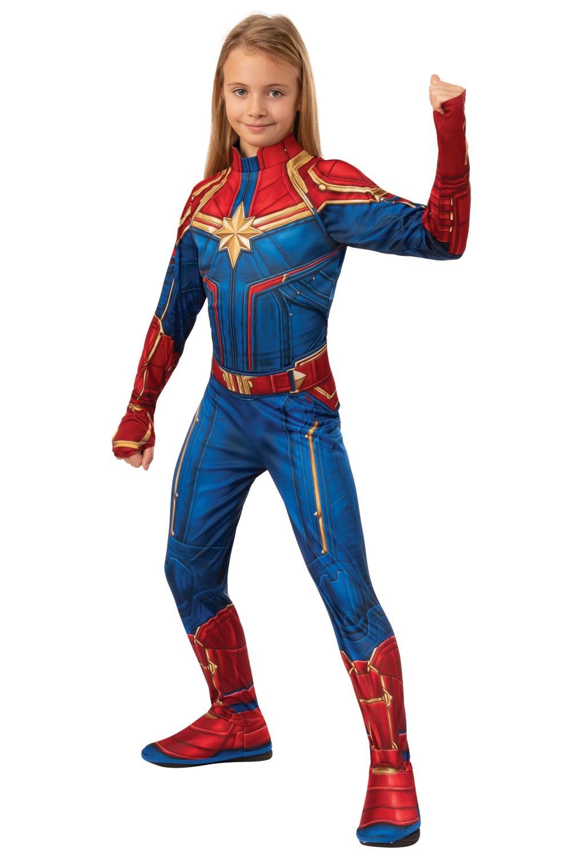 Classic Captain Marvel Child Costume Purecostumes Com