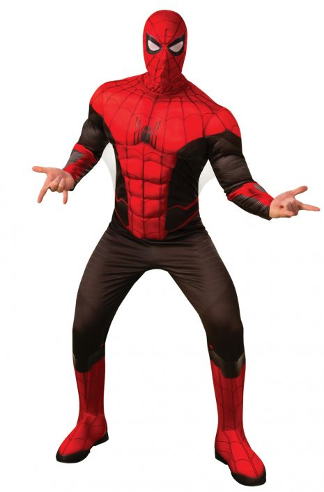 Far From Home Deluxe Spider Man New Suit Adult Costume Purecostumes Com