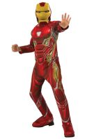 Endgame Deluxe Iron Man Mark 50 Child Costume