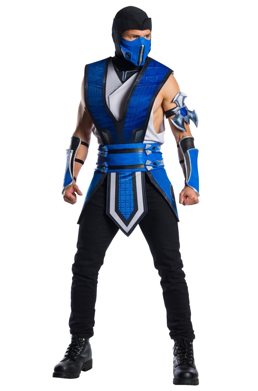 Mortal Kombat 11 Sub Zero Adult Costume Purecostumes Com