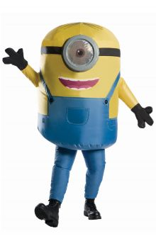 COVID-19-Appropriate costumes Inflatable Minion Adult Costume
