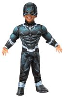 Superhero Adventures Deluxe Black Panther Toddler Costume