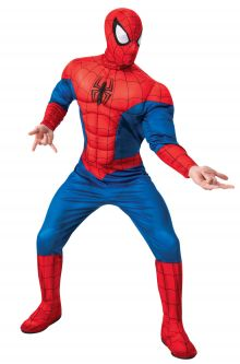 COVID-19-Appropriate costumes Marvel Deluxe Spider-Man Adult Costume
