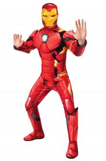 COVID-19-Appropriate costumes Marvel Deluxe Iron Man Adult Costume