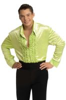 Velvet Disco Shirt (Green)