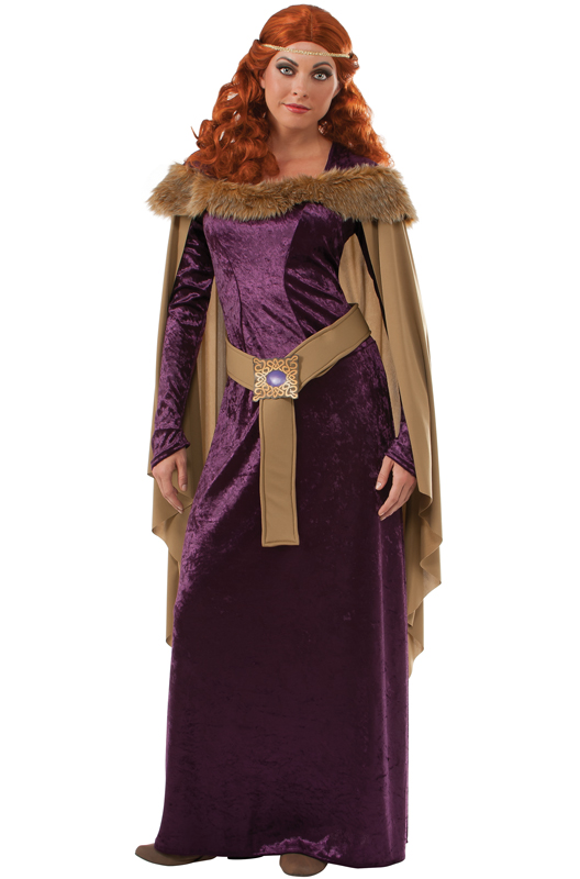Adult costume medieval princess