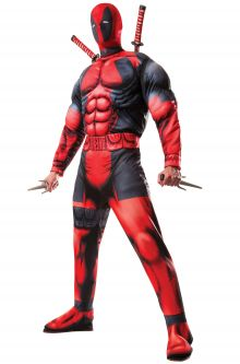 Expensive vs Affordable Costumes Deluxe Deadpool Adult Costume