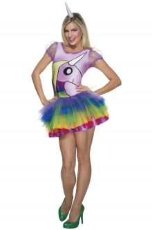 Lady Rainicorn Adult Costume Gay Pride Fashion