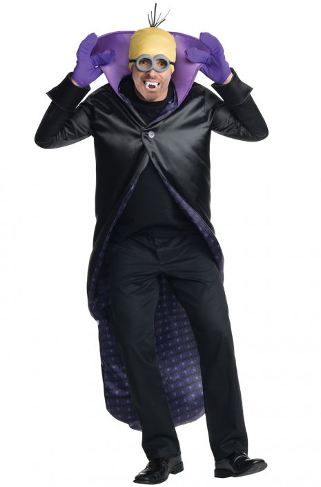 Minion Dracula Adult Costume  sc 1 st  Pure Costumes : purple minion costume adult  - Germanpascual.Com