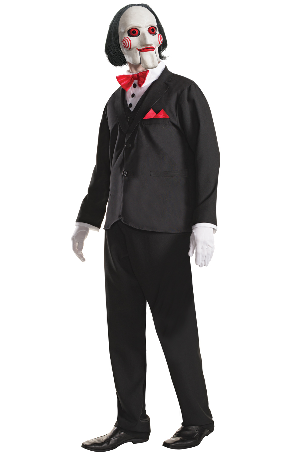 saw movie horror puppet billy men adult costume ebay. Black Bedroom Furniture Sets. Home Design Ideas