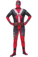 Deadpool Second Skin Suit Adult Costume