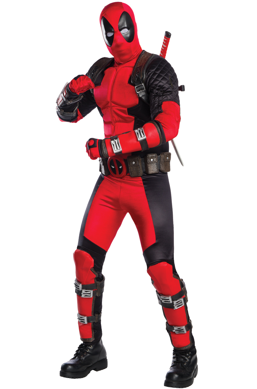 sc 1 st  Pure Costumes & Deadpool Grand Heritage Adult Costume - PureCostumes.com