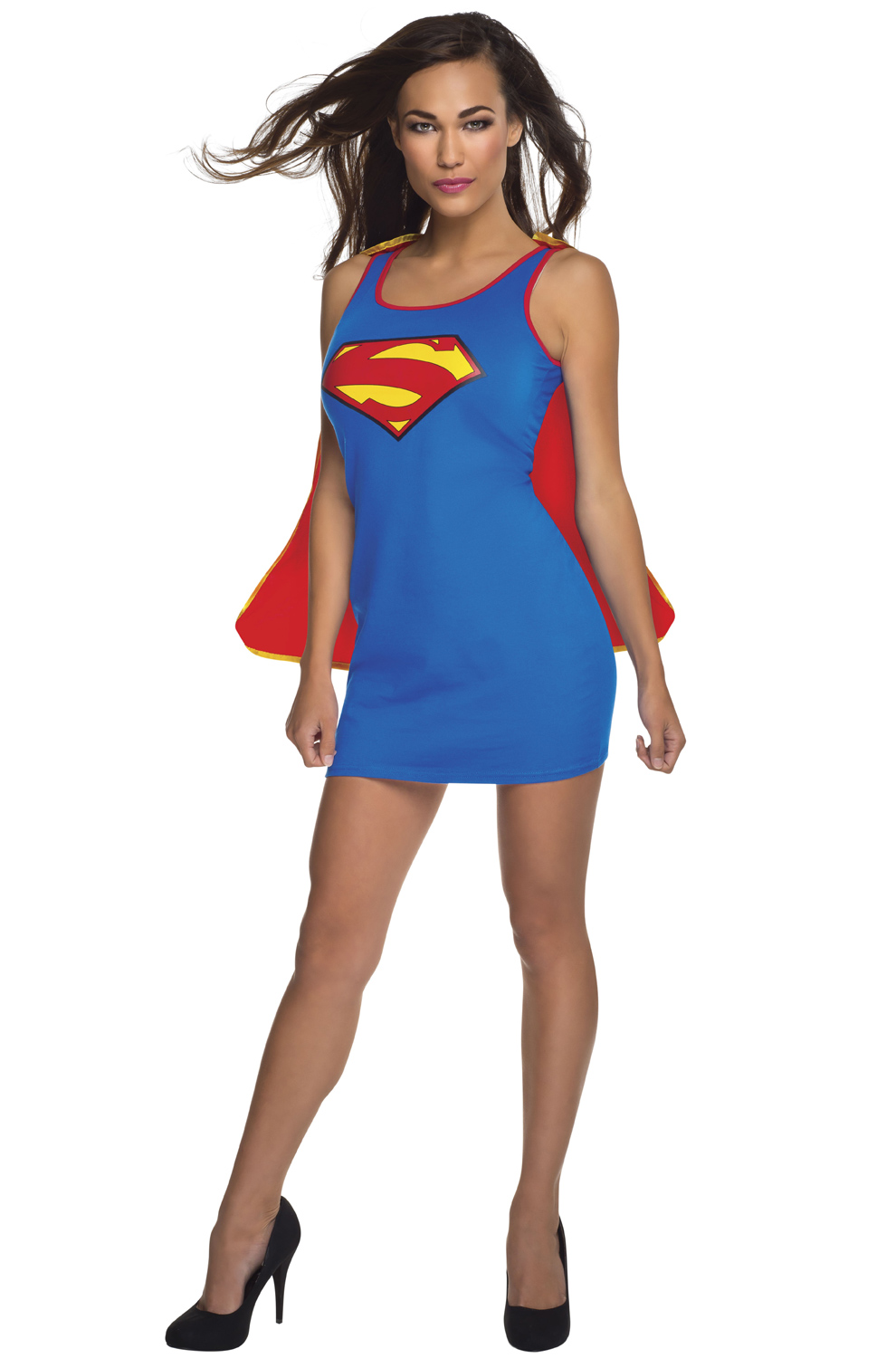 sc 1 st  Pure Costumes & Supergirl Tank Dress Adult Costume - PureCostumes.com