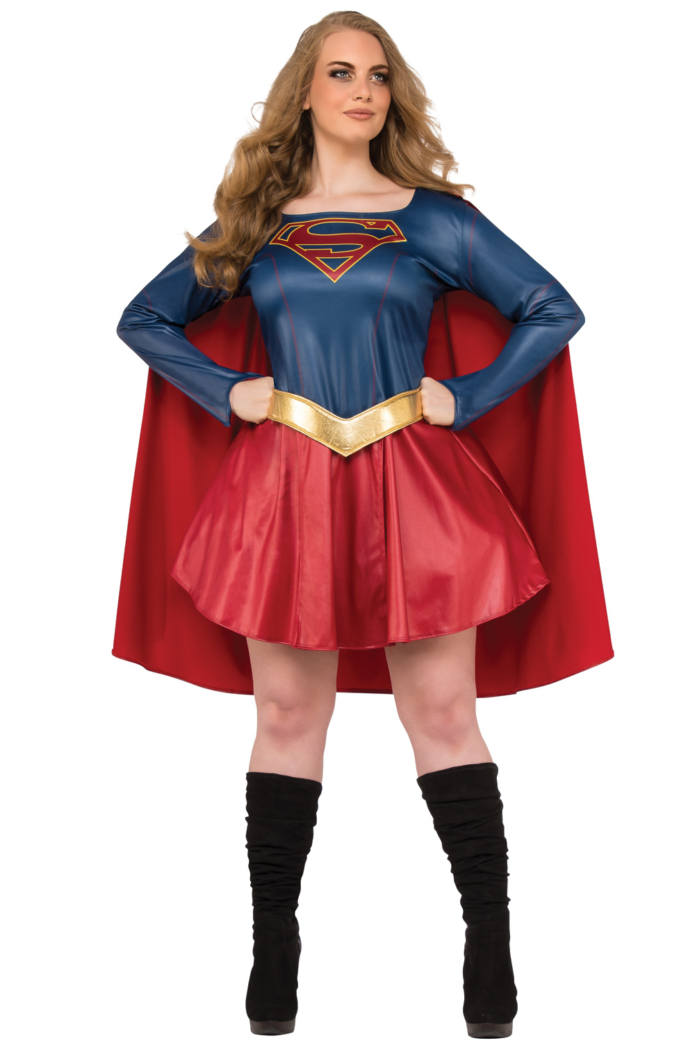 Plus size costumes purecostumes tv show supergirl plus size costume solutioingenieria Image collections