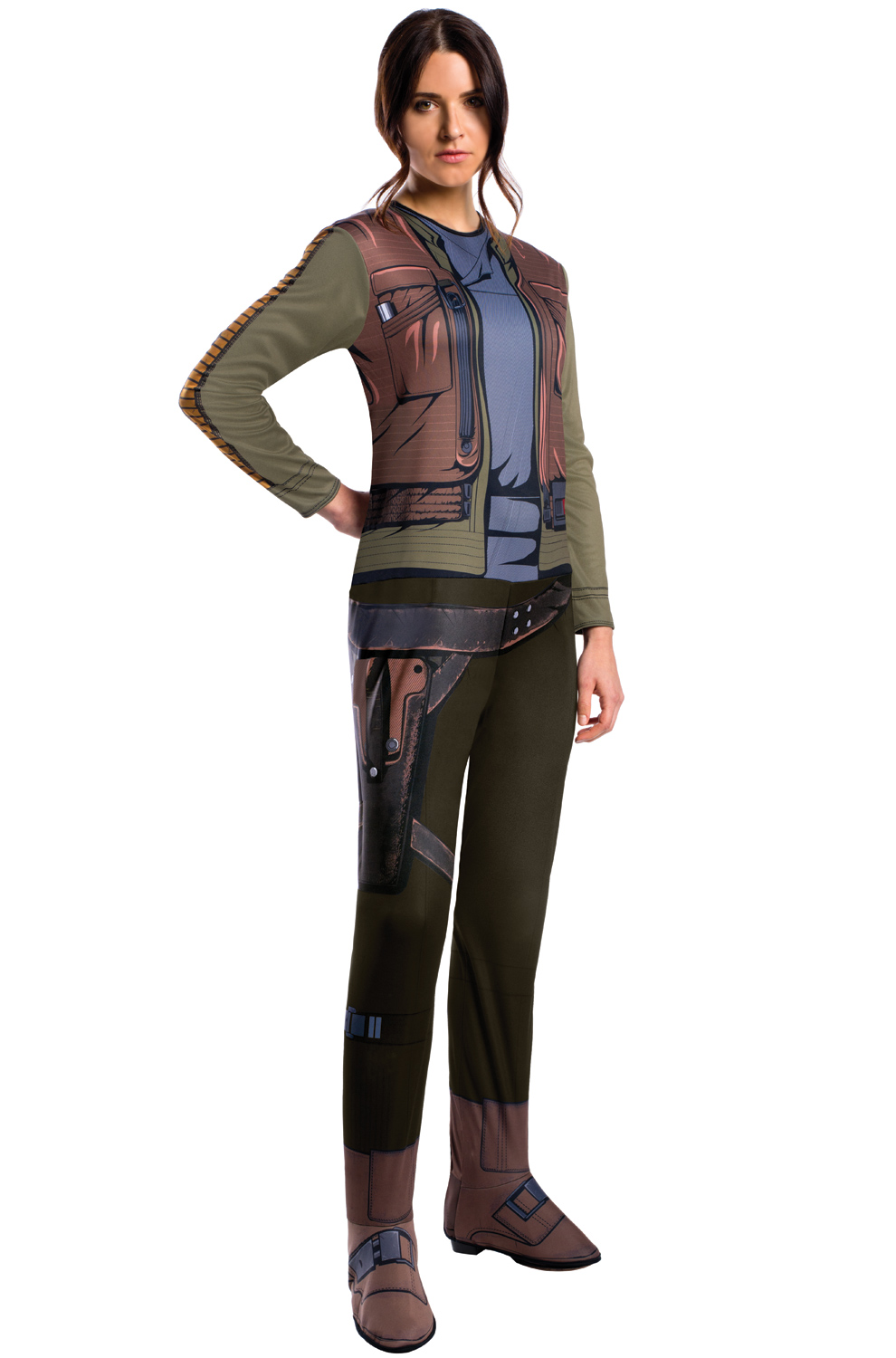 Rogue One Jyn Erso Adult Costume - PureCostumes.com