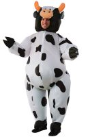 Cow Inflatable Adult Costume