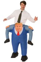 Presidential Piggyback Adult Costume