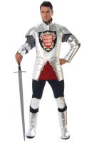 Silver Knight Adult Costume