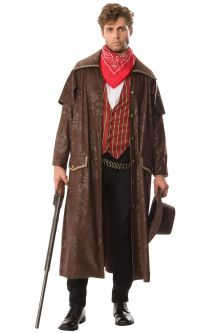 COVID-19-Appropriate costumes Cowboy Adult Costume