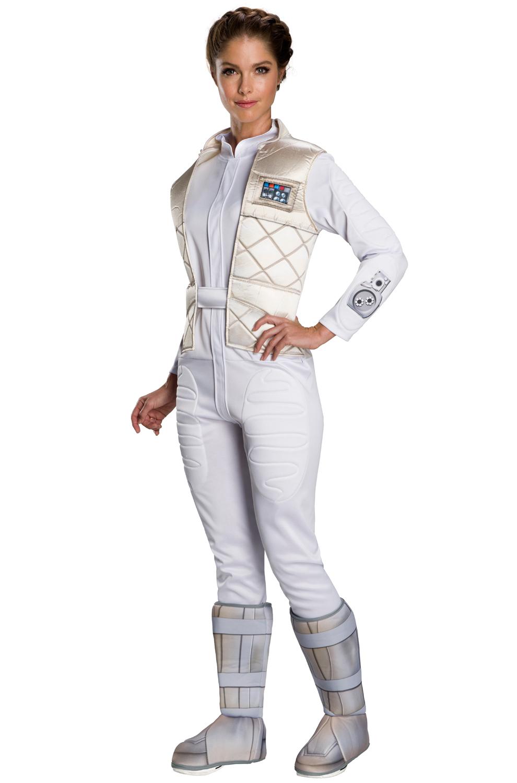 Hoth Princess Leia Adult Costume Purecostumes Com