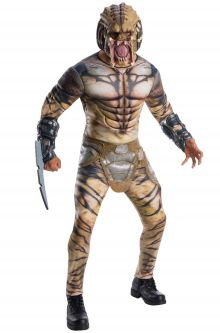 deluxe predator adult costume