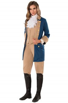 Historical Patriotic Woman Adult Costume  sc 1 st  Pure Costumes & Colonial Costumes - PureCostumes.com
