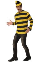 Where's Waldo Odlaw Adult Costume