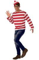 2018 Where's Waldo Plus Size Costume