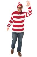 Deluxe Where's Waldo Plus Size Costume