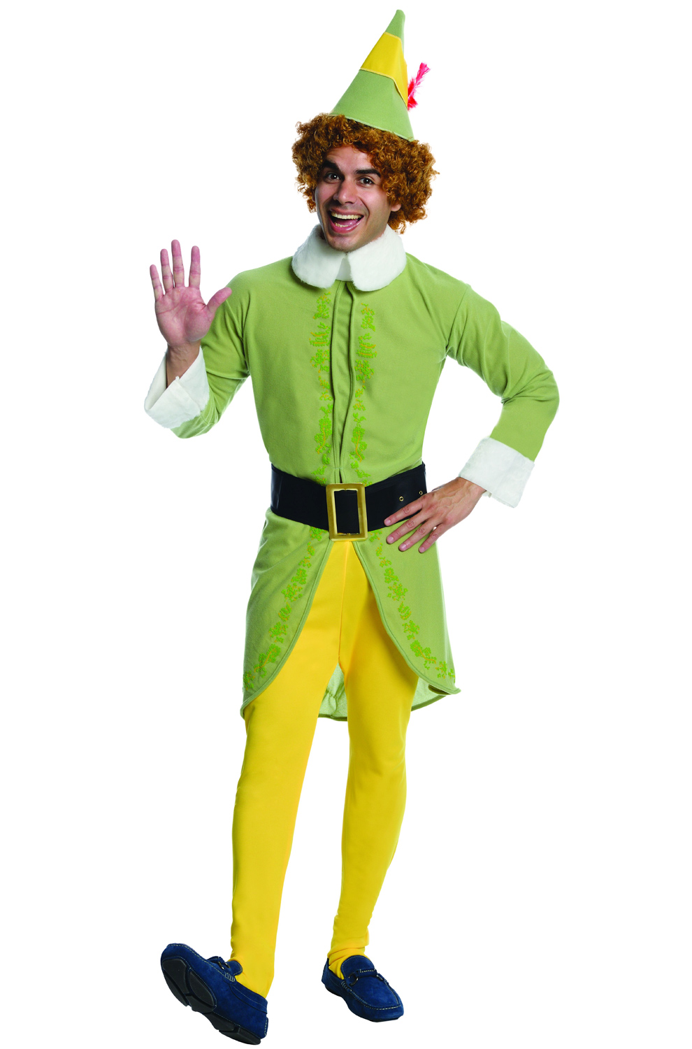 Buddy elf adult costume sexy thumbs