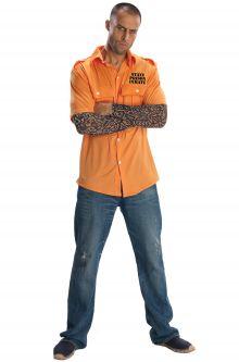 Prisoner convict costumes purecostumes state prisoner adult costume solutioingenieria Choice Image