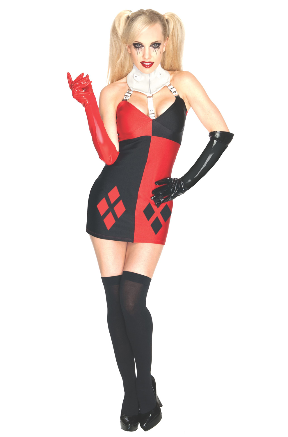 Sexy DC Rogues Secret Wishes Super Villain Harley Quinn Adult Costume EBay