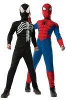 Deluxe Spider-Man Reversible Child Costume