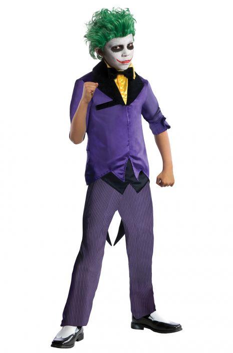 The Joker Child Costume  sc 1 st  Pure Costumes & The Joker Child Costume - PureCostumes.com