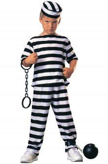 Prisoner convict costumes purecostumes prisoner boy child costume solutioingenieria Choice Image