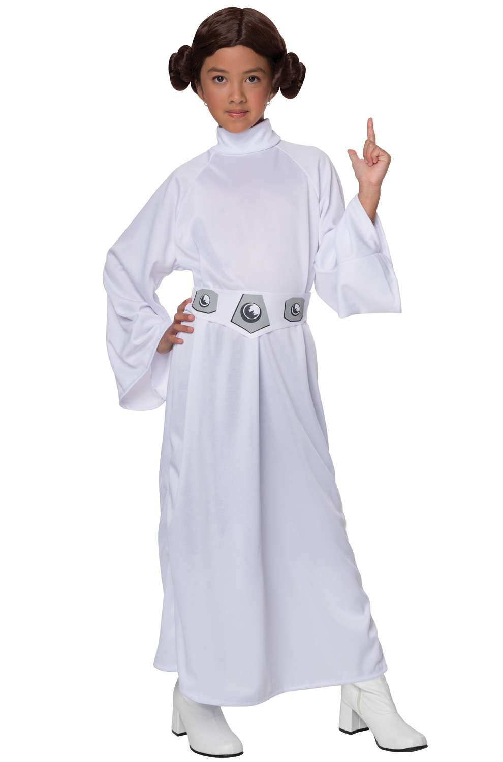 star wars deluxe princess leia child costume