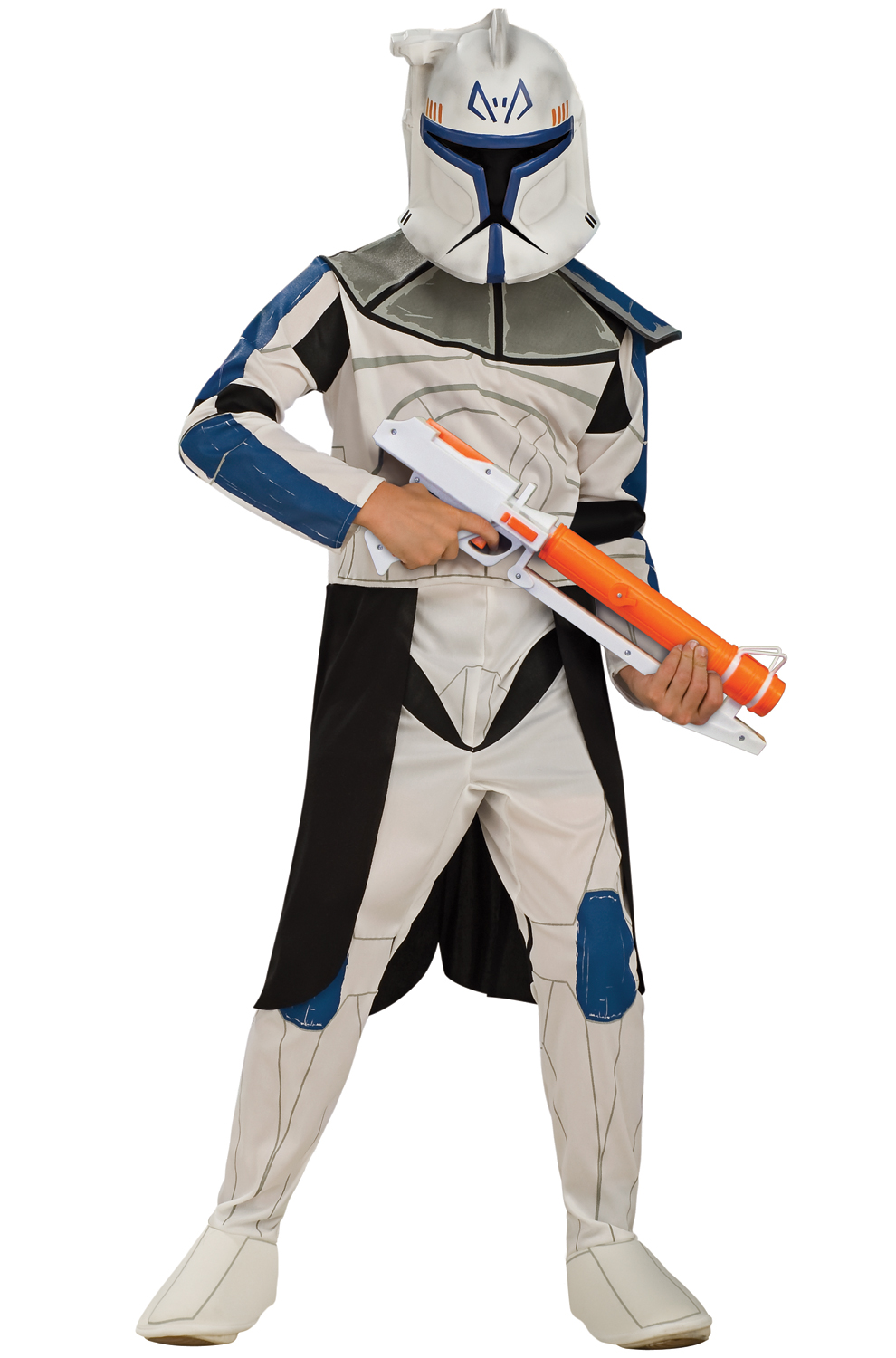 Click Here to buy Star Wars Clone Wars Clone Trooper Captain Rex Kids Costume from Pure Costumes