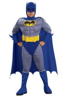 Batman Deluxe Muscle Chest Batman Toddler/Child Costume